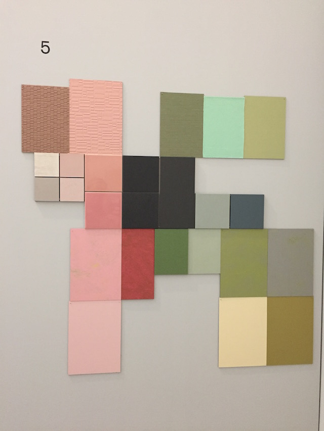 DDW16 | Material and color | Van Abbe museum | Aristotle's room