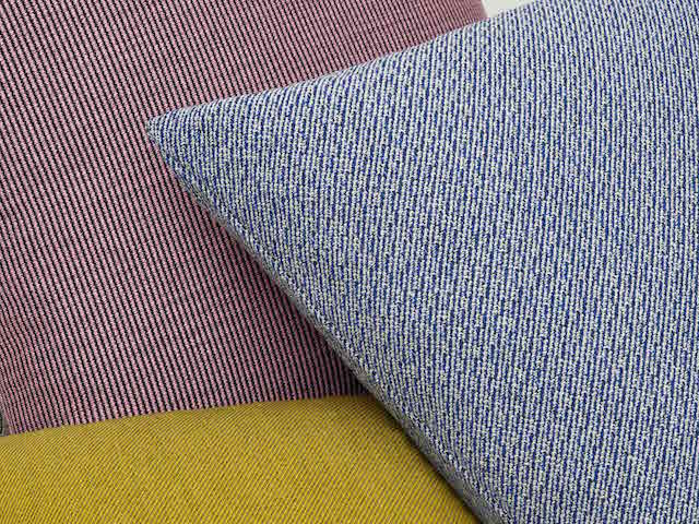 Raf Simons | Kvadrat | Reflex Pulsar Fuse | Cushion + Textile collection