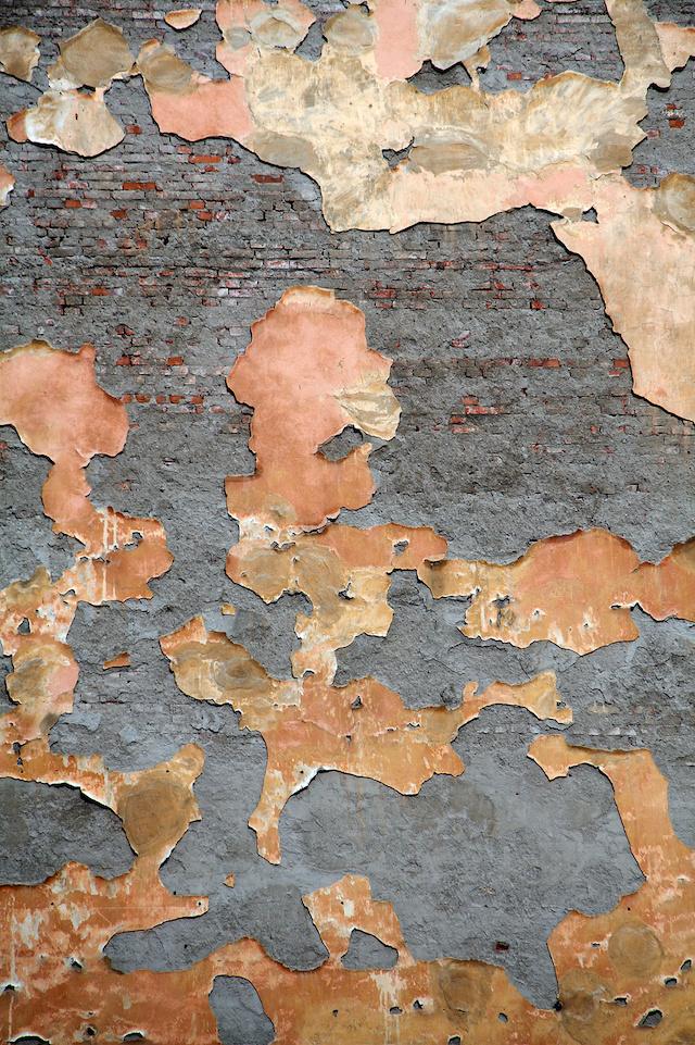 grunge brick wall wallpaper | Pixers foto behang oude muur