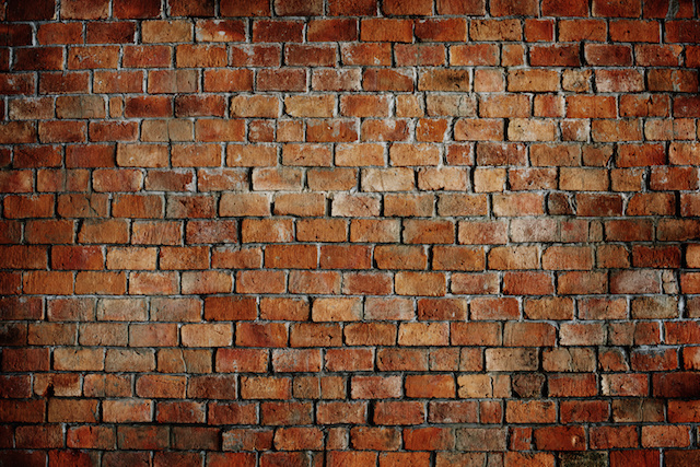 Classic Beautiful Textured Brick Wall wallpaper | Pixers | ouden baksteen foto behang