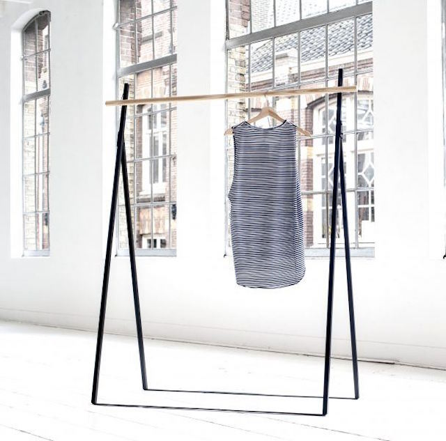 CLOTHING RACK BLACK By Yaco Studio | Crowdyhouse | Elle Decoration selection 2017