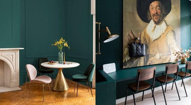 Trend color 2019 | Histor | Quiet Clearing | Dark green