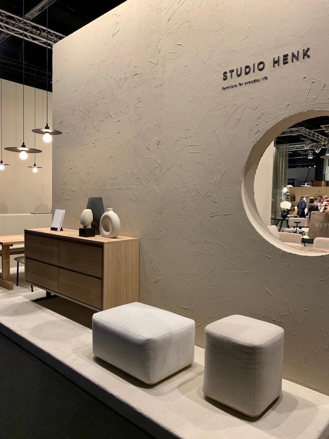 cabinet + pouf  | Studio Henk | Dutch furniture design brand | Picture by C-More