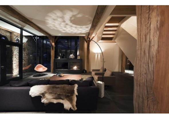 Prachtig wonen in een woonboerderij  Interieur design by