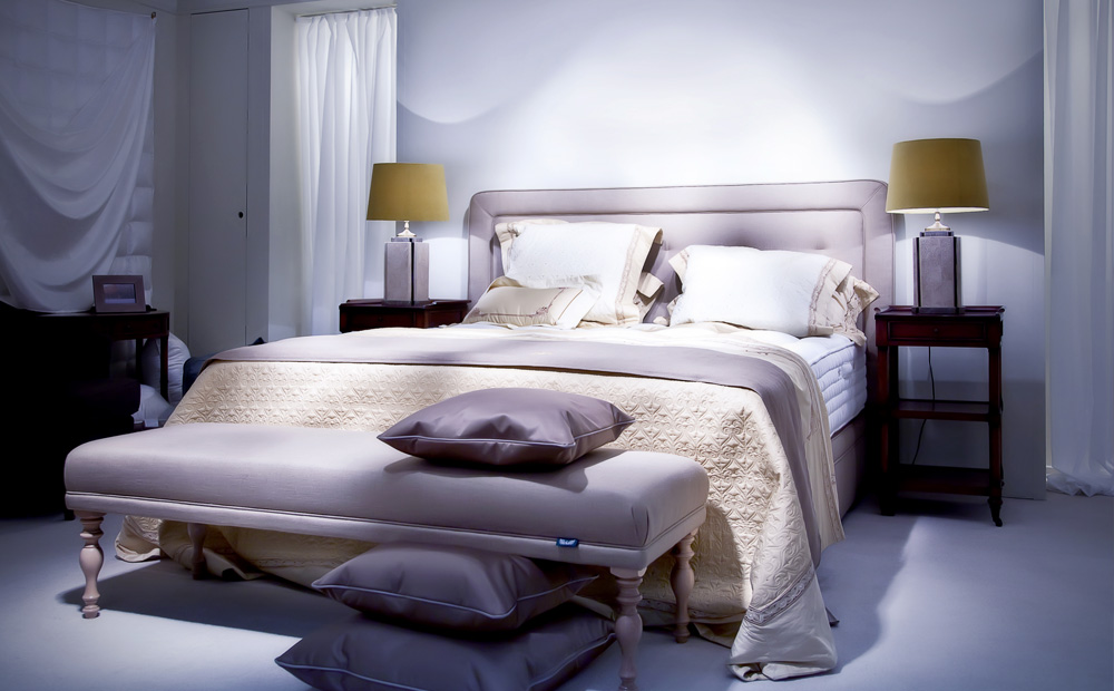 Slaapkamer Rood Bruin