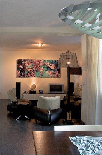 Woning met atelier en werkruimte  inrichting door Coen
