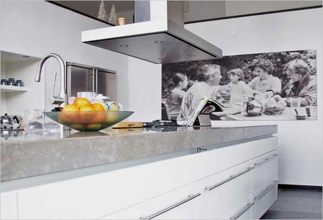 Moderne villa inrichting door DOOS interieurvormgeving
