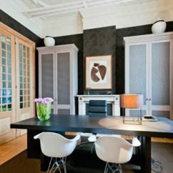 Natuzzi Lounge Chair Dinning Covers Gerenoveerde Rijwoning Met Modern - Klassiek Interieur