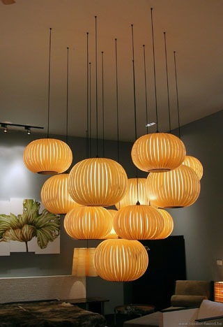 Sculpturale verlichting in hout Passion4Wood