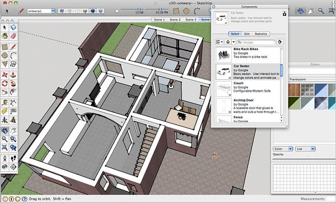 Gratis interieur tekenprogrammas Overzicht 3Dprogrammas