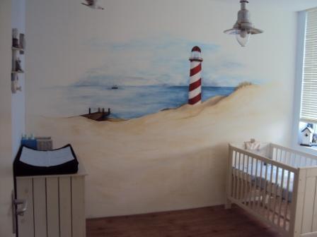 Een strand babykamer Wij hebben leuke voorbeelden