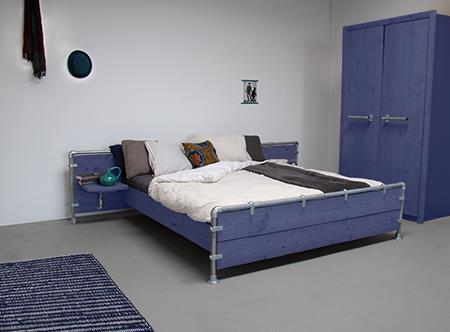 Slaapkamer blauw  Interieur Inspiratie