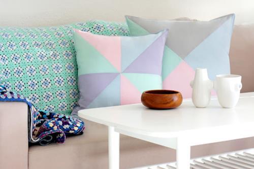 Pastel in je woonkamer  Interieur Inspiratie