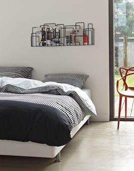 Slaapkamer zwartwit  Interieur Inspiratie