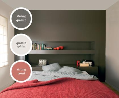 Welke kleur gebruiken in de slaapkamer Rood  Interieur