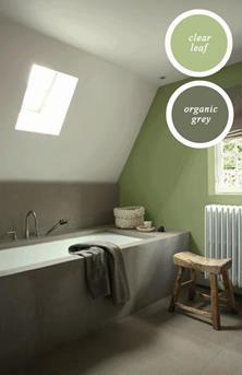 Natuurlijk groen wonen  Interieur Inspiratie