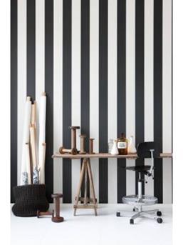 Zwart witte strepen in het interieur  Interieur Inspiratie