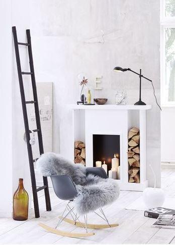 Eames stoel woonkamer  Interieur Inspiratie