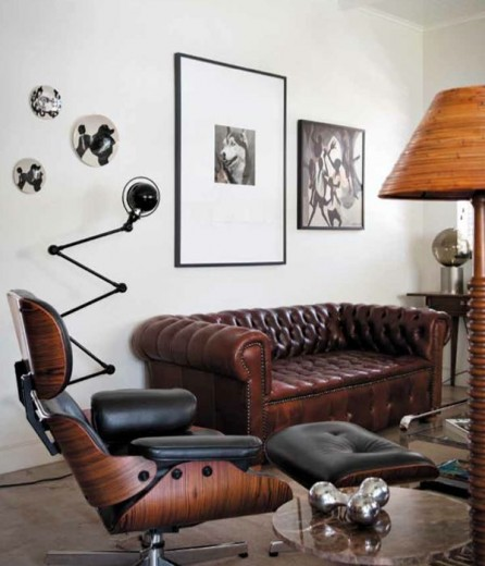 Eames lounge chair  Interieur Inspiratie