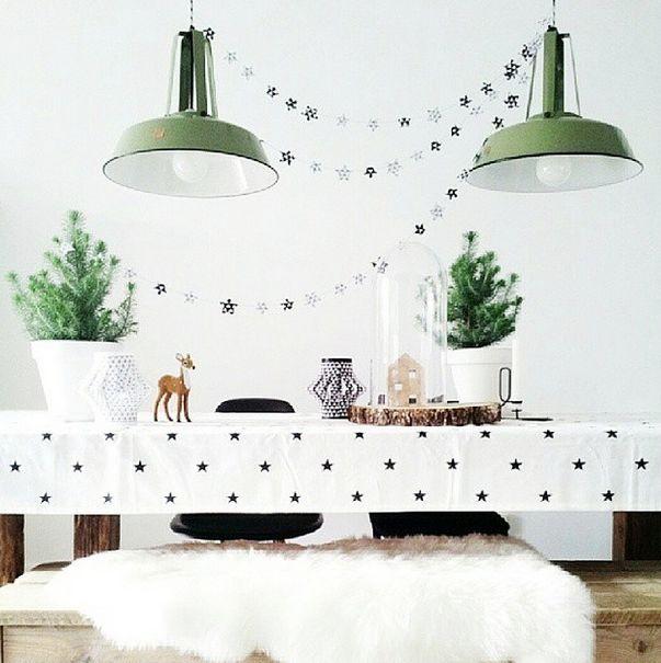 Zwart wit kerst