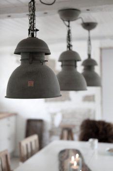 Lampen voor een industriële look woonkamer