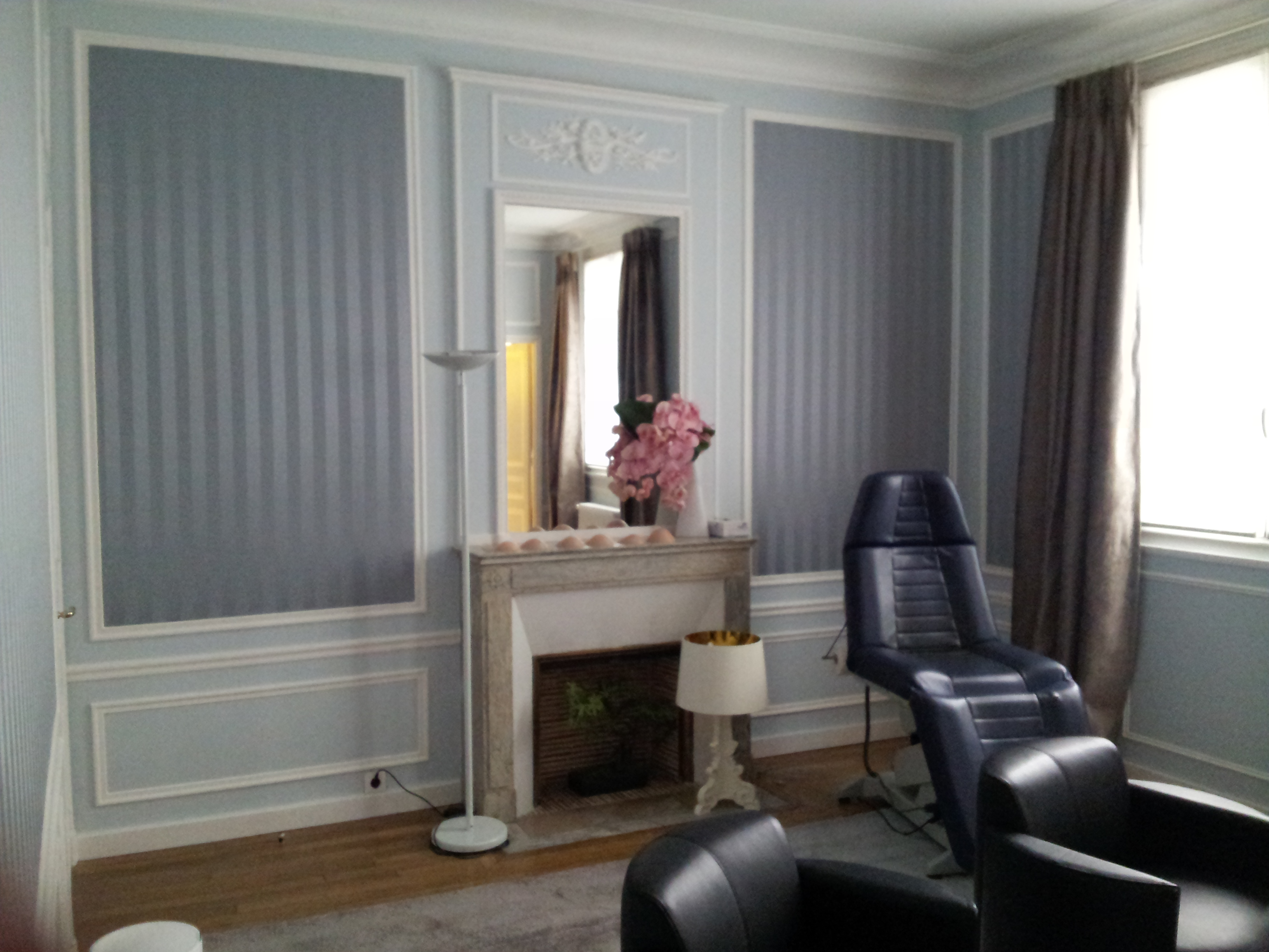Dcoration dun bureau de standing dans un cabinet mdical  Paris  Intrieurs