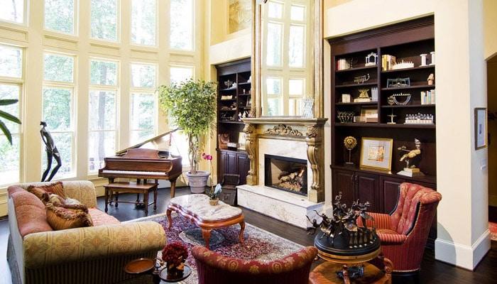 Klassieke woonkamer voorbeelden  Van Traditionele