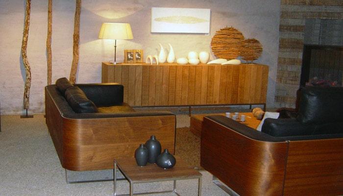Woonkamers voorbeelden  design  moderne en klassie