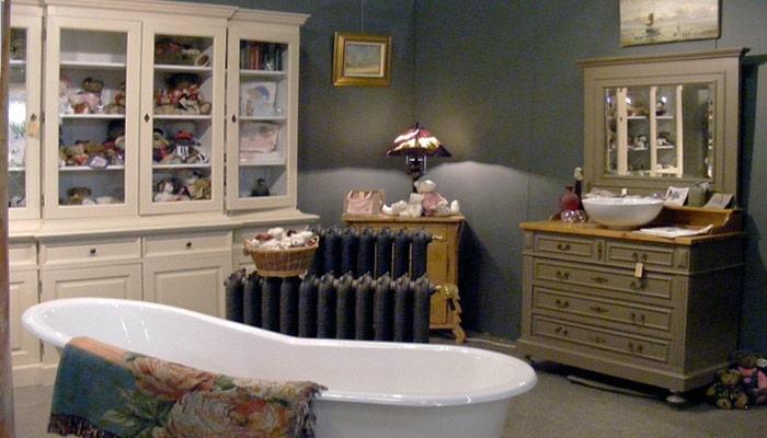Landelijke badkamer inrichting inspiratie voorbeelden