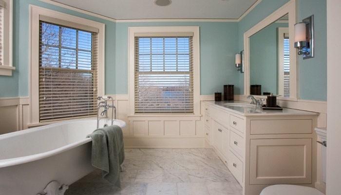 Cottage badkamers voorbeelden en inrichting ideen voor de