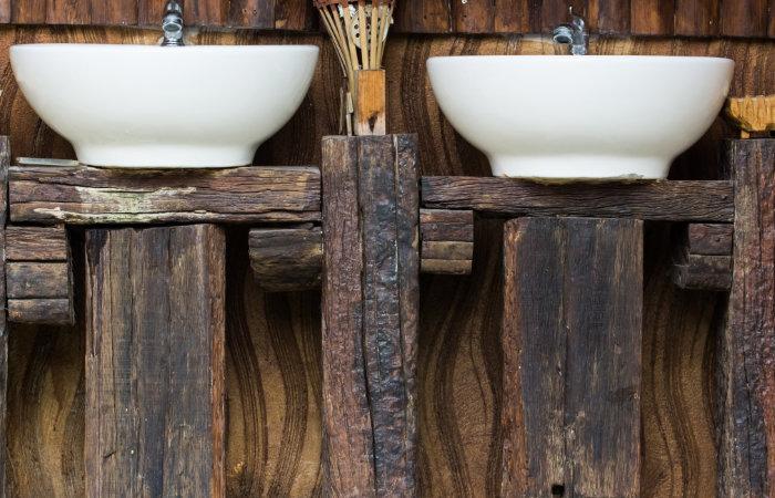 Landelijke badkamermeubels tips  inspiratie  Fotospecial