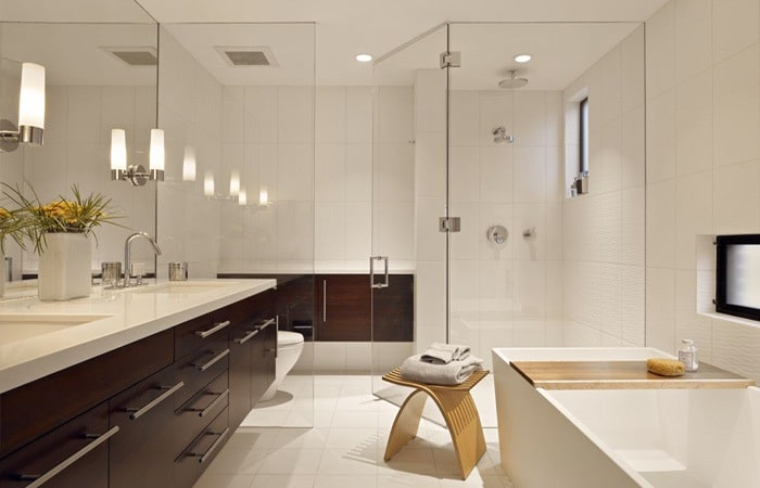 Tegels badkamer Inspiratie  Voorbeelden badkamertegels