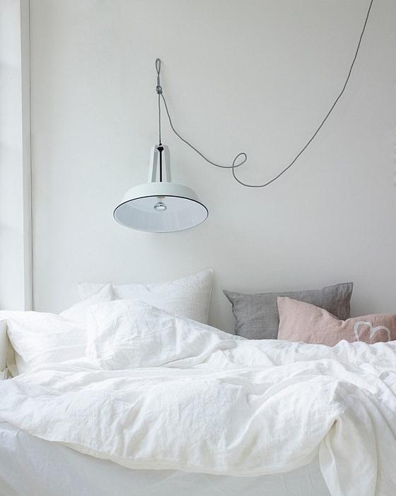 Een hanglamp als leeslamp boven je bed  Interieur Wensen
