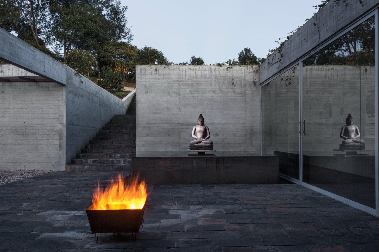 Kamadhenu, Centro de Yoga, Subachoque. Fotografía: cortesía, CEMEX.