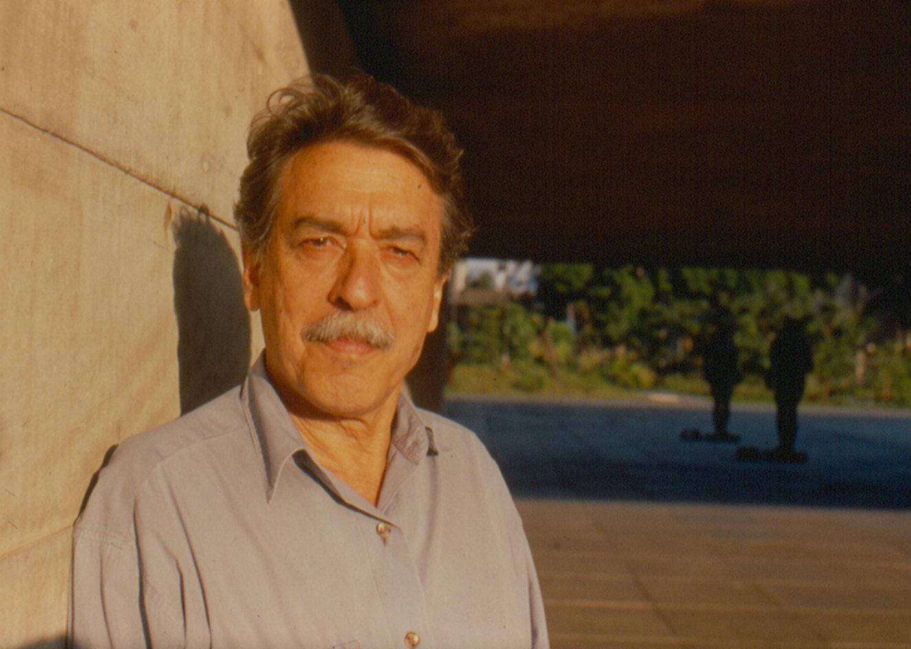 El brasilero Paulo Mendes da Rocha, León de Oro a la Trayectoria. Fotografía: Lito Mendes da Rocha.