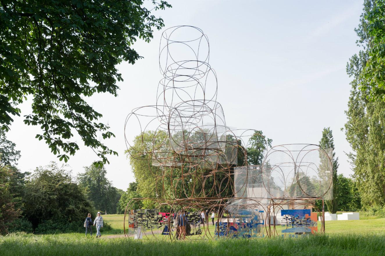 'Casa veraniega' de Barkow Leibinger. Fotografía: © Iwan Baan, cortesía, Serpentine Gallery.