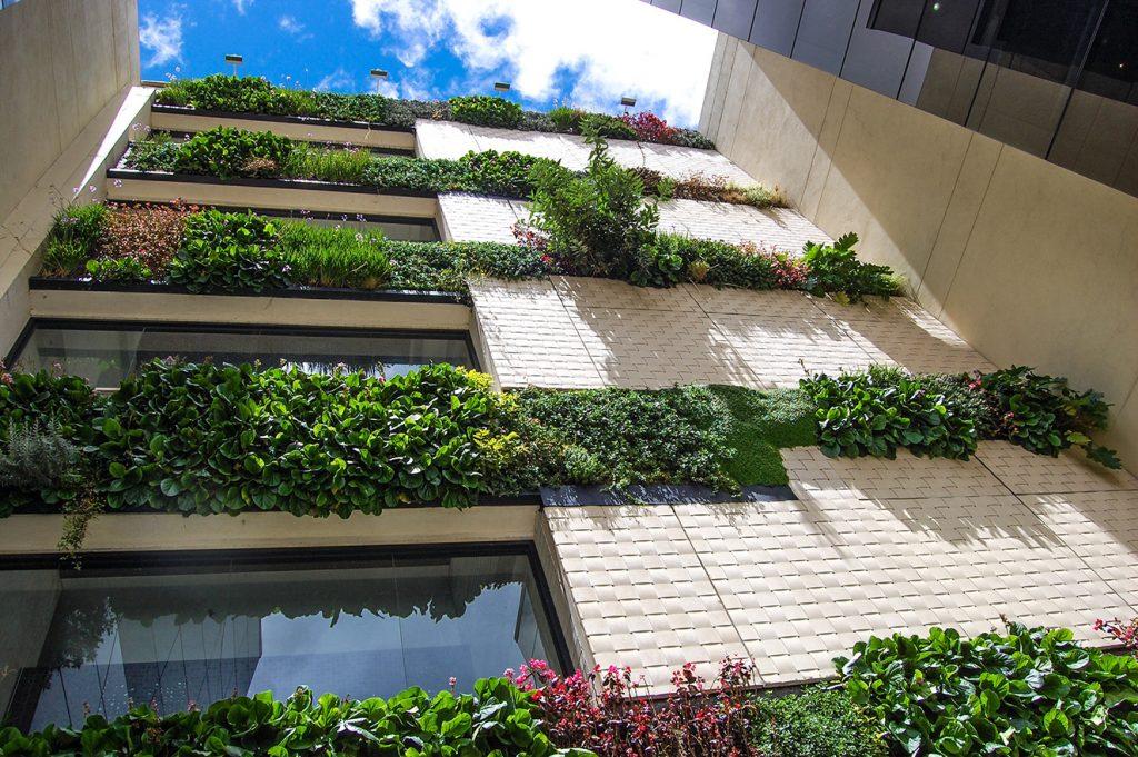 Fachada exterior de Connecta. Fotografia: cortesía Congreso Mundial de Infraestructura Verde.