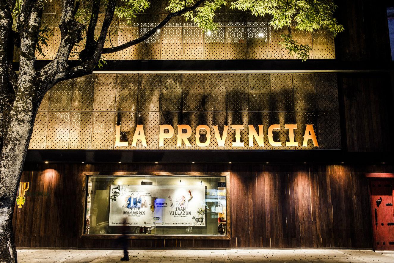 La facha está revestida con madera, acero y vidrio. Fotografía: cortesía, La Provincia.