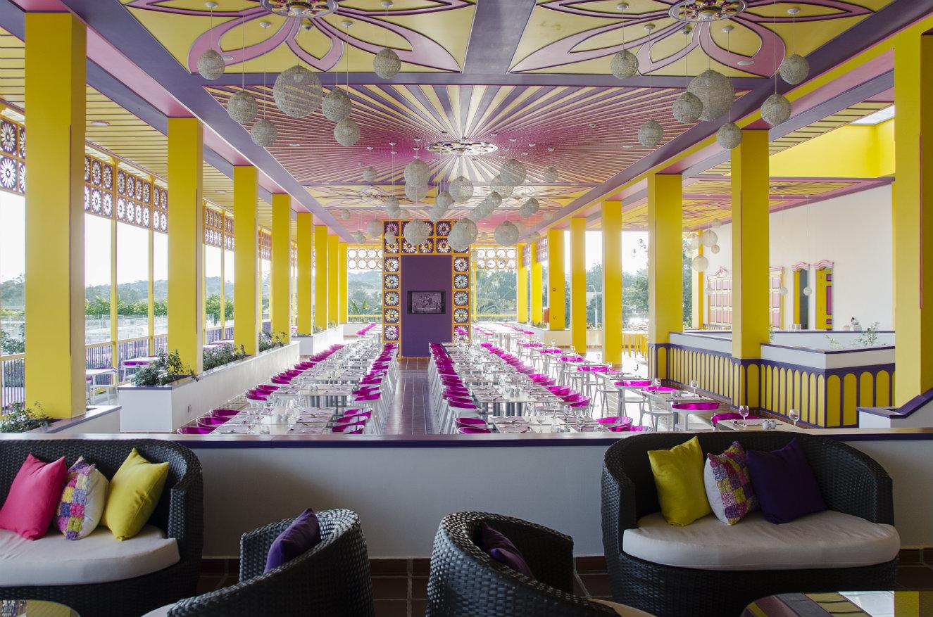 El restaurante Color. Fotografía: cortesía.