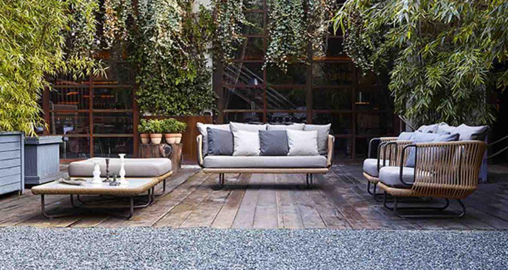 Muebles de terraza Varaschin