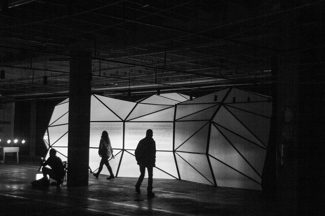 Muestra Voltaje (2017). Fotografia: cortesía.