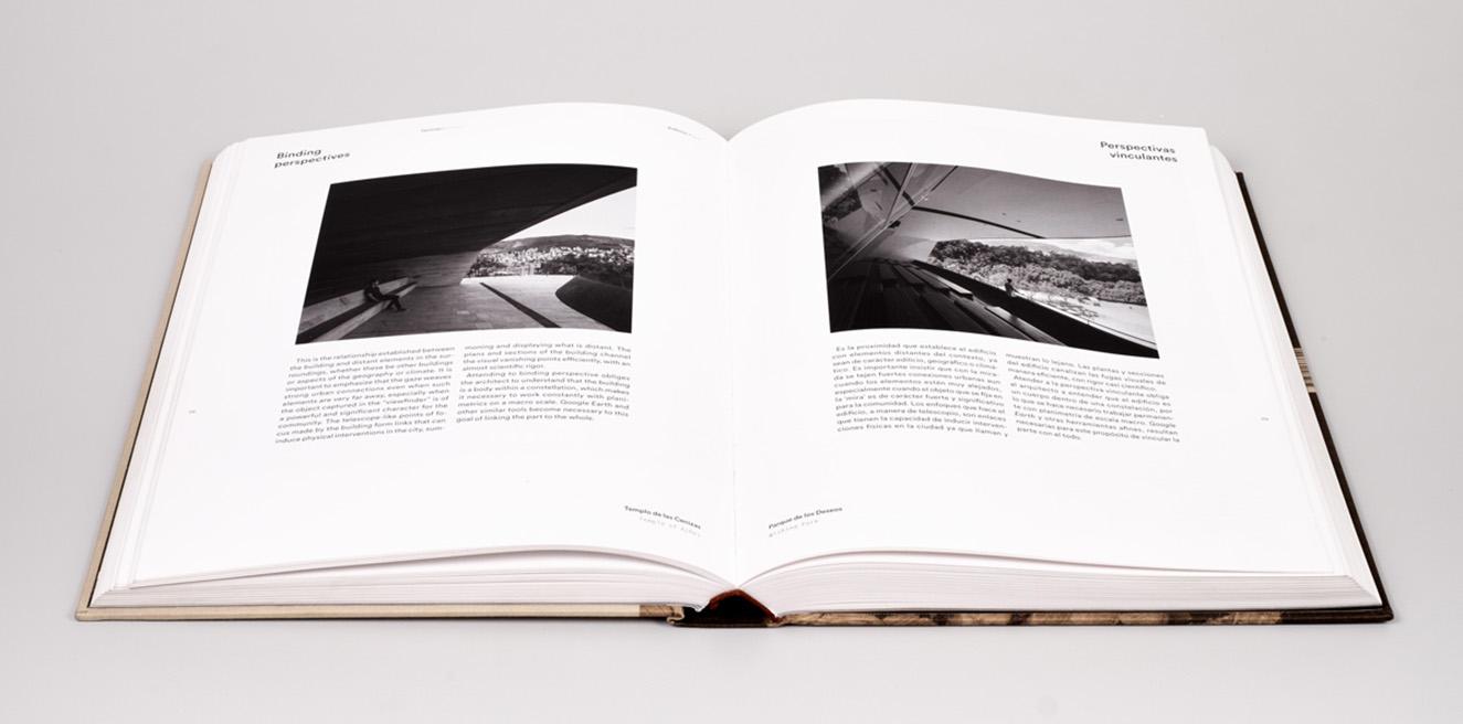 El libro mezcla fotografías, dibujos e ideas de su arquitectura con imágenes y notas sobre su vida cotidiana. Fotografía. cortesía.