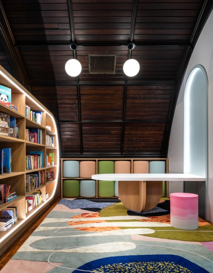 Concourse House biblioteca infantil