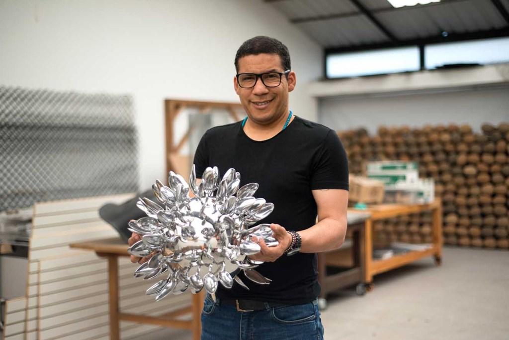 Rafael Gomezbarros es el artista nacional invitado. Fotografía: cortesía BARCÚ.