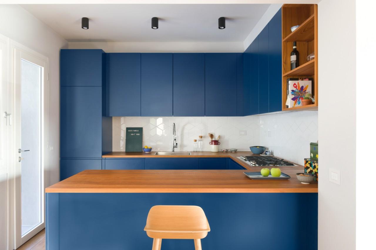 Cocina abierta, diseño de Deferrari+Modesti.