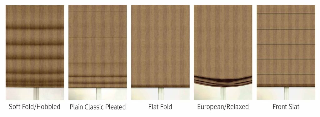 Roman Shades Styles