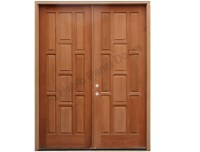 Paneled Doors Designs & ... Beautiful 4 Panel Solid Wood ...