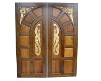 Kail Wood Hand Carving Main Door Design Pid010