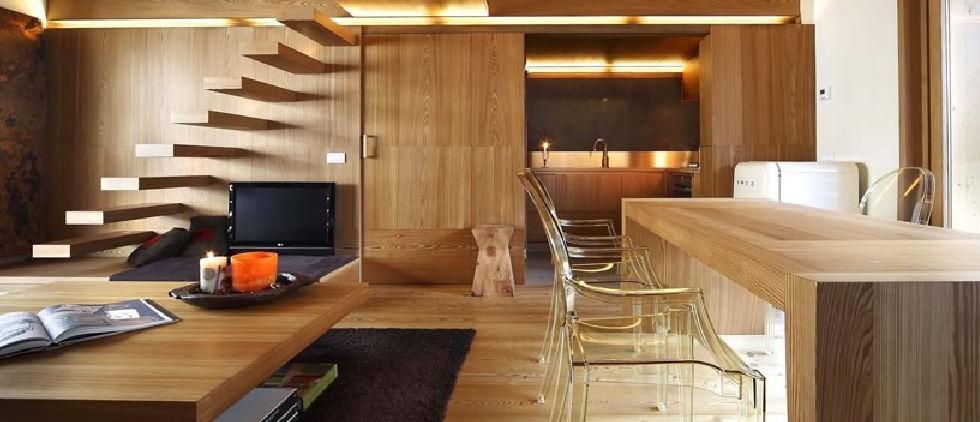 Arredare casa con il legno