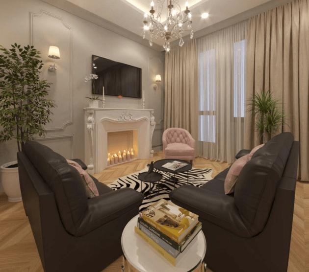 Arredare un fantastico soggiorno in stile classico moderno
